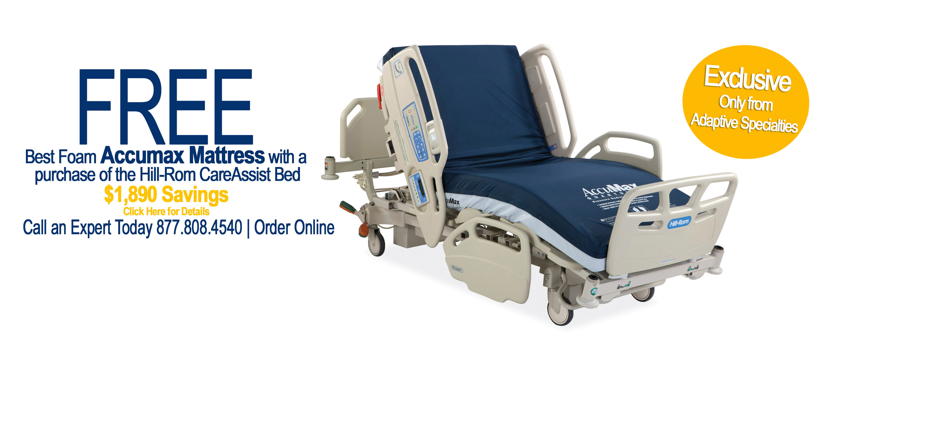 Exclusive Sale - Free Accumax with CareAssist