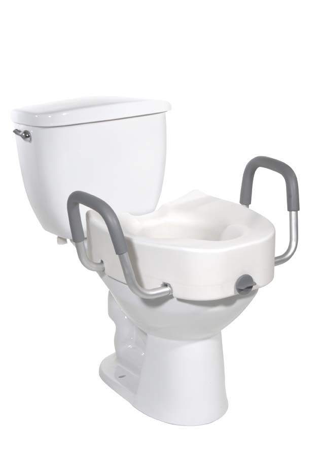 Raised Toilet Seat By Drive Medical 12013 at Adaptive Specialties