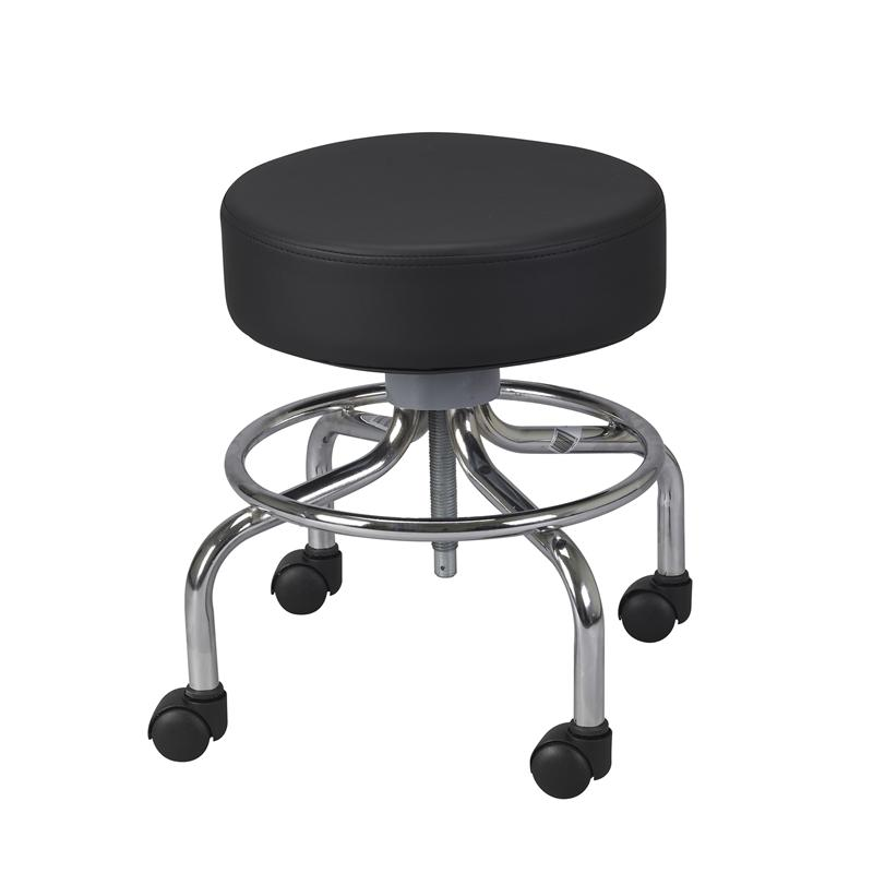 wheeled round stool by drive medical adaptive specialties