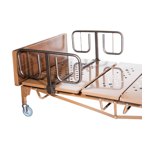 Full Electric Bariatric Hospital Bed With T Rails By Drive
