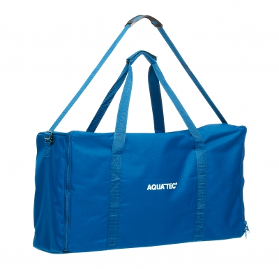 Aquatec RSB Battery Operated Tub Lift w side lateral in blue & white