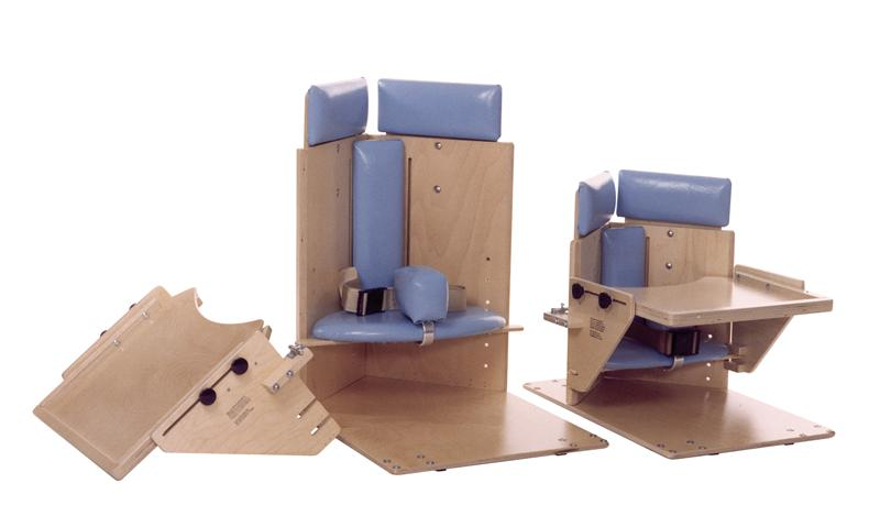 Two Sizes Of Kaye Corner Chairs, Shown Without Casters.