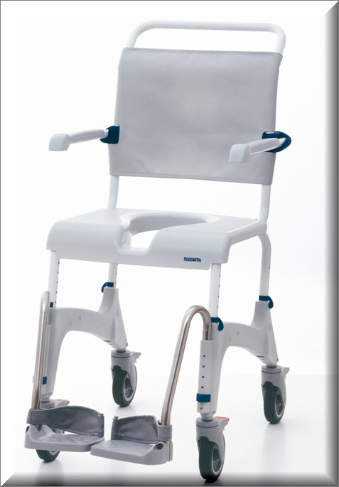 Aquatec Ocean Shower Chair And Commode Pediatric Bathing