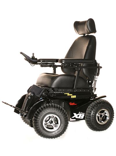 X8 extreme wheelchair all terrain wheelchair adaptive for All terrain motorized wheelchairs