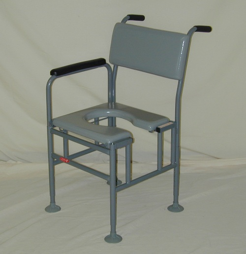 Activeaid 277 Series Stainless Steel Commode Bath Chair