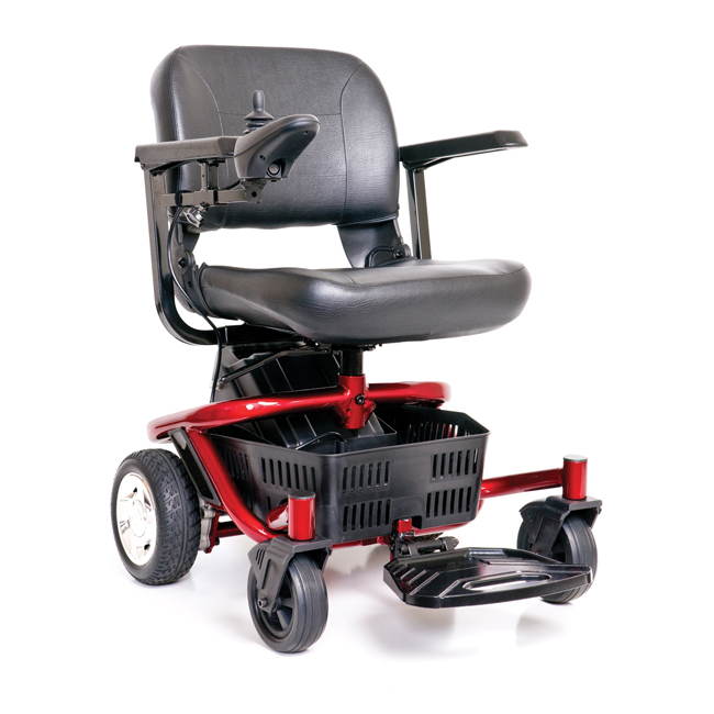Literider ptc portable power chair by golden technologies Portable motorized wheelchair