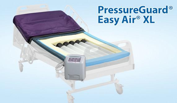 easy air xl mattress with low air loss u0026 alternating pressure