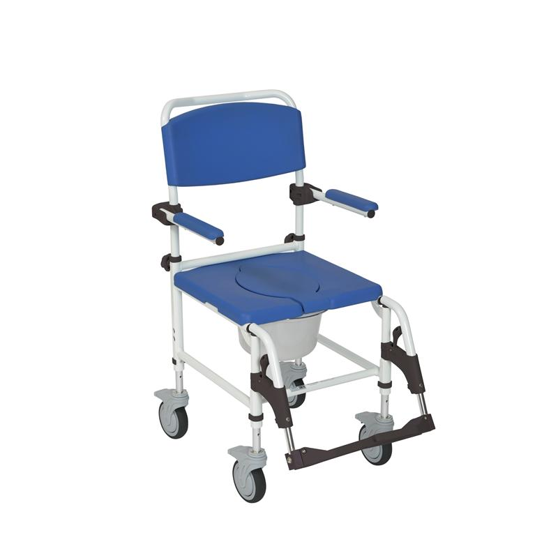 Aluminum Shower Commode Transport Chair By Drive Medical