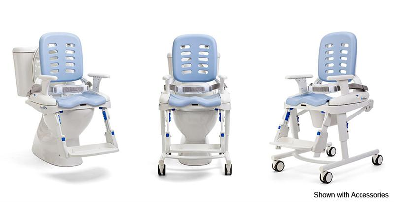 Pediatric Bath Chair The Rifton HTS's versatility allows for use on and off the toilet
