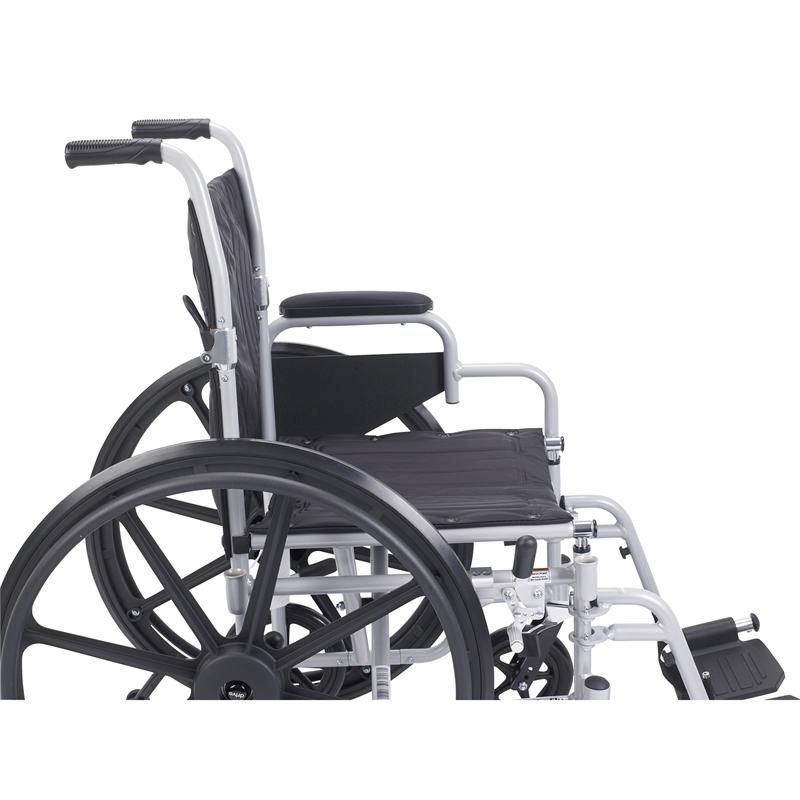 Poly Fly Light Weight Transport Chair Wheelchair Swing