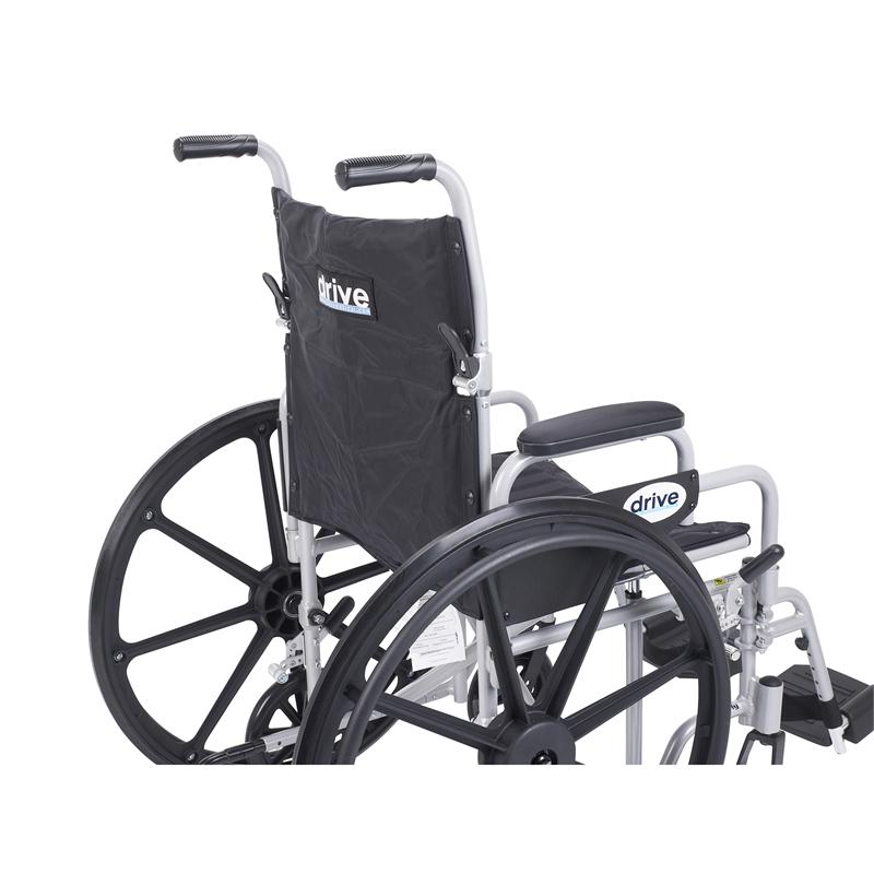 Poly Fly Light Weight Transport Chair Wheelchair Tr20