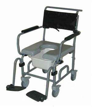 Activeaid 805 Height Adjustable Shower Commode Chair