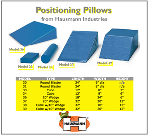 Hausmann Industries Positioning Pillows