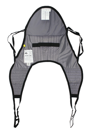 Joerns U Shaped Sling With Head Support For Hoyer Lifts