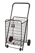 Black Winnie Wagon All Purpose Shopping Utility Cart By Drive Medical