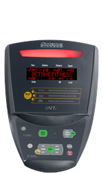 Octane Fitness Q47 Elliptical - Q47X Display
