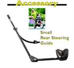 Rear steering guide for Rifton adaptive tricycle, medium size.