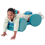 Tumble Forms 2 Jettmobile, helps develop neck, shoulder and arm muscle coordination while the child advances in an extension position