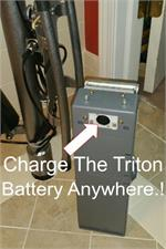 Battery can be charged anywhere