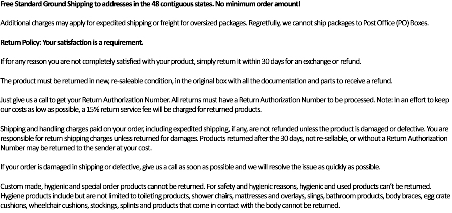 Shipping&Returns Policy