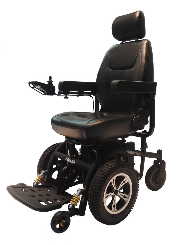 Trident Front Wheel Drive Power Chair By Drive Medical