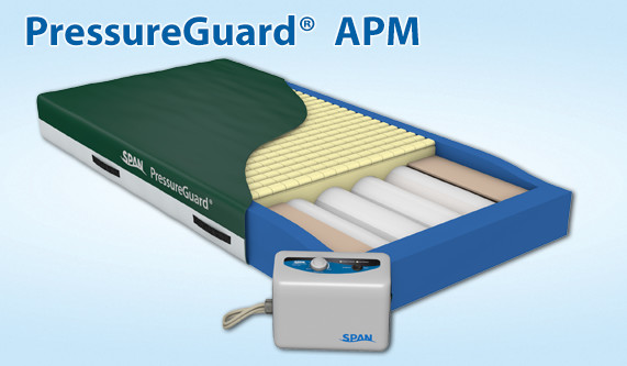 Span America Pressureguard Apm Mattress Alternating Pressure