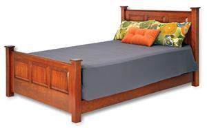 Signature Series Wood Headboard And Footboard Assured Comfort Bed