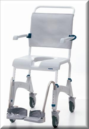 Aquatec Ocean Shower Chair And Commode