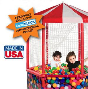 Giggle Play Gazebo With Germ Block Protection