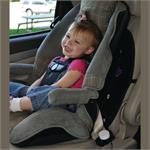 Buckle Guard Pro by Performance Health pictured with child in carseat