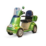 EW-52 4-Wheel Scooter in Green