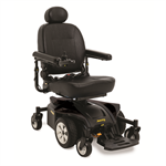 Jazzy Select 6 2.0 Power Wheelchair in Black Onyx