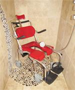 Go-Anywhere Adjustable Commode 'N Shower Chair