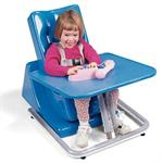 Tray for Tumble Forms 2 Feeder System comes in several colors and helps with eating and playing.