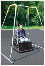 Sportsplay ADA Wheelchair Platform Swing with Frame