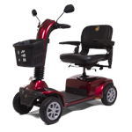 Companion 4-Wheel Full Size Scooter by Golden Technologies in Red