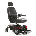 Vision CF Power Wheelchair by Merits