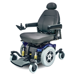 Jazzy 614 HD Power Wheelchair by Pride Mobility in Blue