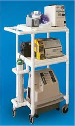 Mobile Respiratory Cart by Innovative Products Unlimited