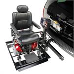 Harmar Automatic Power Chair Lift lifts standard and travel power chairs