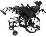 Inspired by Drive Adult Kanga Tilt-in-Space Wheelchair tilts up to 110 deg.