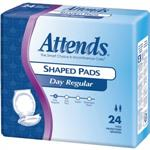 Attends Day Plus Shaped Pads