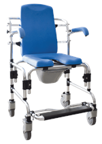 Caspian Mobile Shower Chair by Platinum Health
