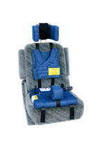 Churchill Booster Car Seat for special needs children and adults weighing up to 175 pounds.