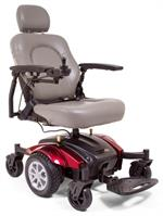 Compass Sport Power Wheelchair by Golden Technologies in Red