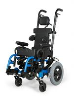 Zippie Iris Pediatric Tilt-In-Space Wheelchair with Folding Frame