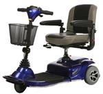 Merits Pioneer 1 3-Wheel Scooter in Blue