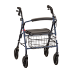 Nova Mack Heavy Duty Rolling Walker in Blue