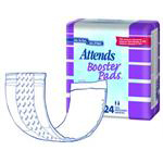 Attends Booster Pads for extra protection to pair with incontinence products, case of 192