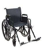 Silver Sport 1 Wheelchair with Full Arms SSP118FA-SF